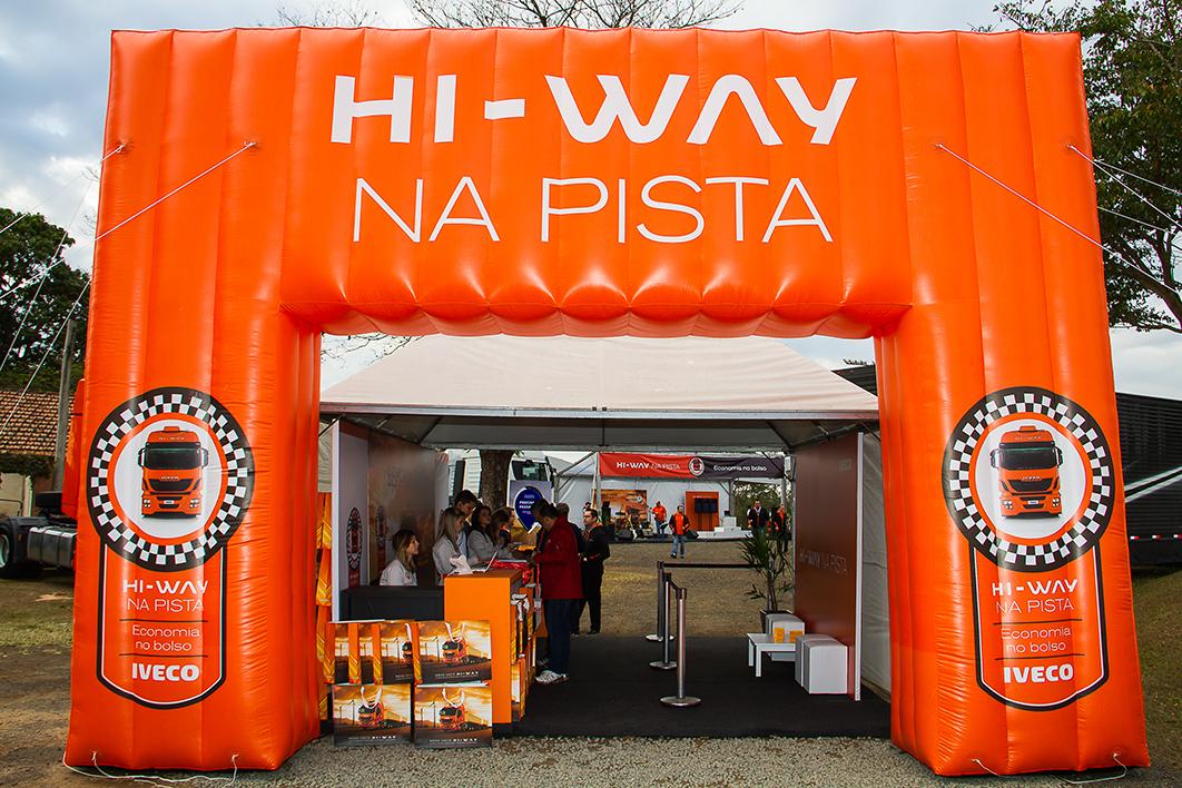Iveco – Hi-way na Pista